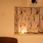 寝室の出窓のカーテンをFrancfranc(フランフラン)に替えてみた