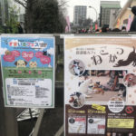 保護猫カフェ ねこかつの地域猫譲渡会 in 黒目川花まつり